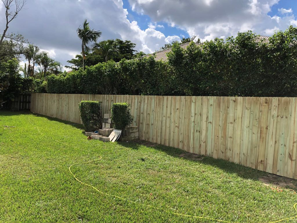 davie fl wood fence company