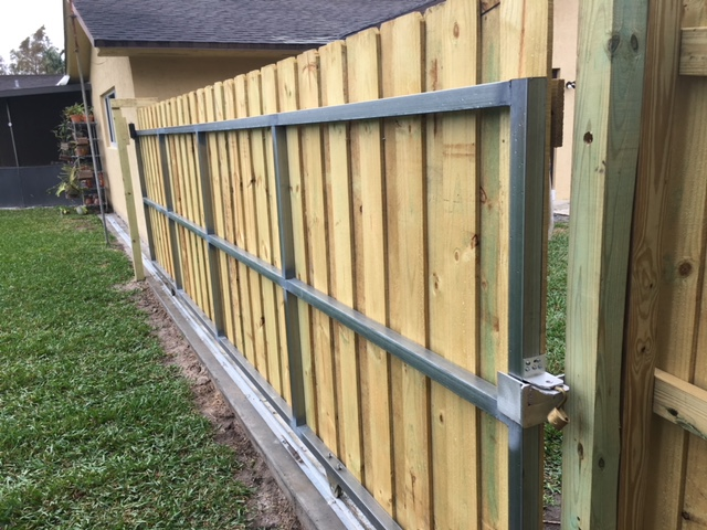 davie fl gate installation