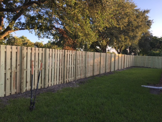 wooden fencing davie fl